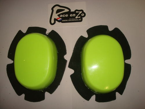 Kneesliders fluo yellow (hard)